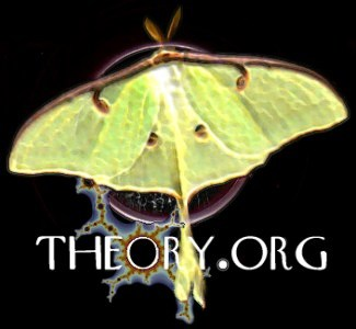 luna moth with fractal blooming oh in theory of theory.org